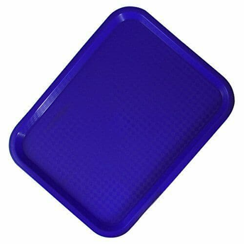 Blue RectangularCanteen Service Tray - MORE OPTIONS