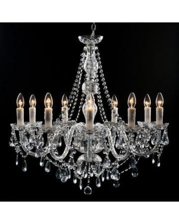 Clarence Chandelier - 9 Light