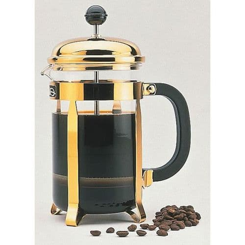 Classic Gold Cafetiere - 6 Cups Medium