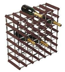 Dark Pine 42 Bottle Wine / Champagne Rack