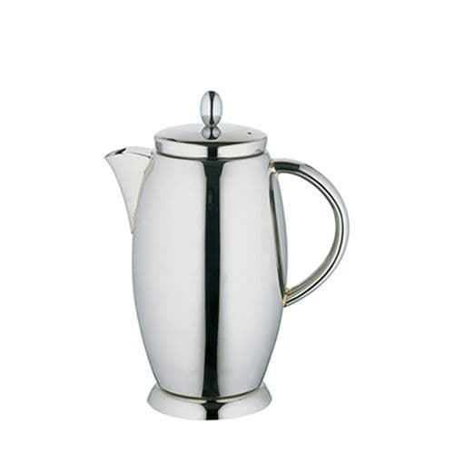 Deluxe Stainless Steel Coffee Pot - 1.2L Large