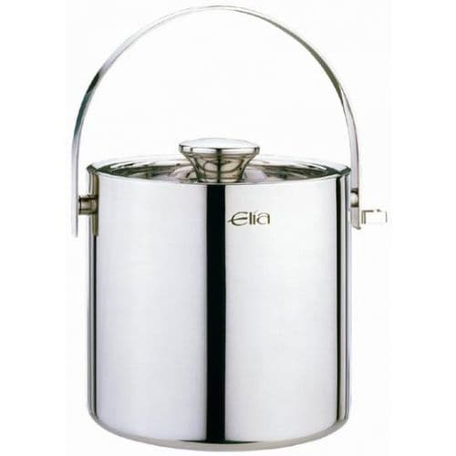 Deluxe Stainless Steel Insulated Ice Bucket - 2L