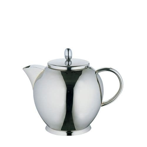 Deluxe Stainless Steel Tea Pot - 0.4L Small