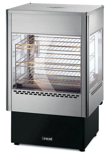 Electric Upright Heated Merchandiser with Oven Static rack