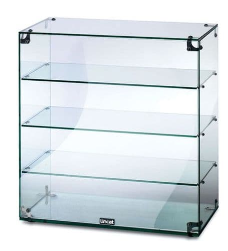 Glass Display Cabinet Without Doors - 64.5*60cm