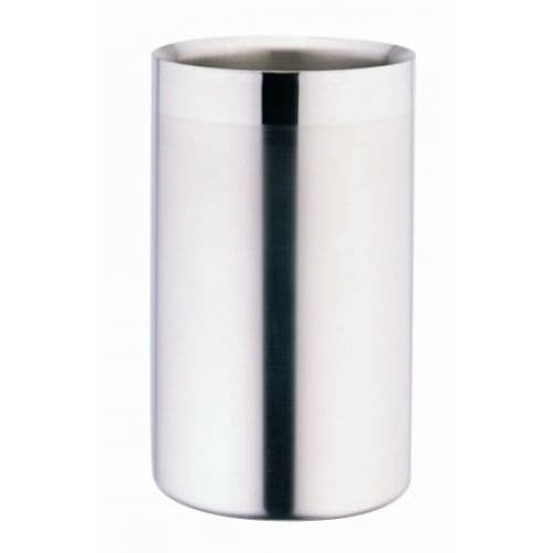 Insulated Satin Double Wall Wine Cooler -  H20cm