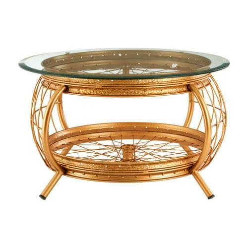 Melrose Baroque Gold Coffee Table