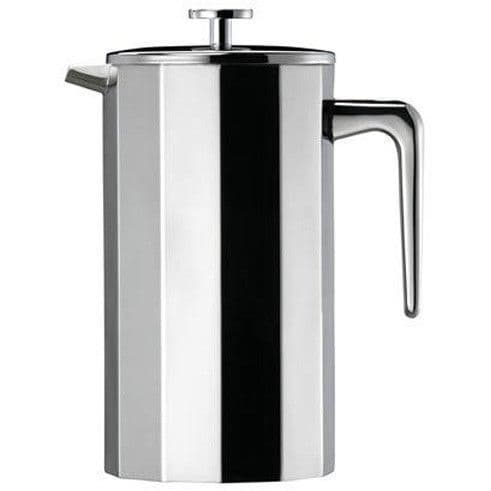 Multi-faceted Stainless Steel Cafetiere  - 8 Cups Large
