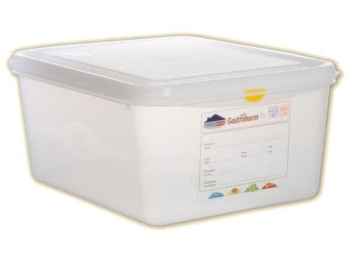Polypropylene Gastronorm Container - Half Size 1/2