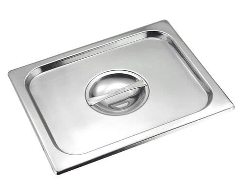 Premier Stainless Steel Gastronorm Pan Cover - Half Size 1/2