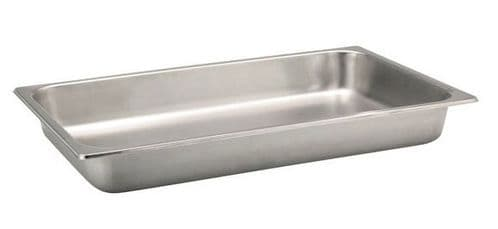 Premier Stainless Steel Gastronorm Pan - Full Size 1/1 6.5cm
