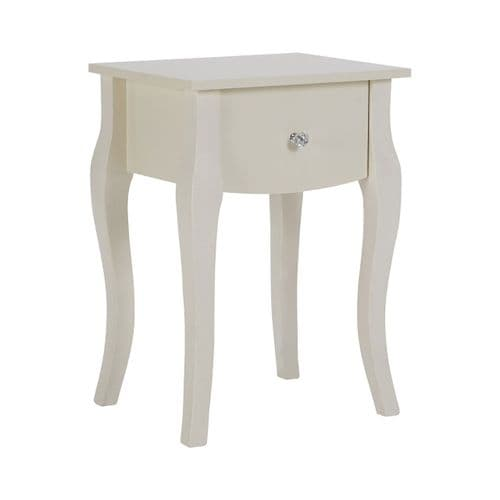Presley Ivory Side Table