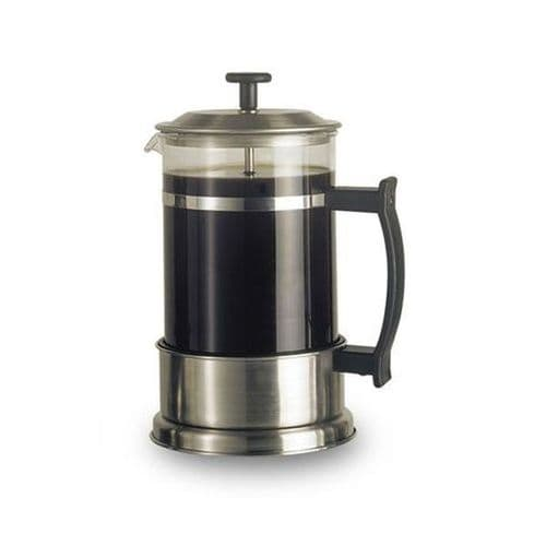 Satin Cafetiere - 6 Cups Medium