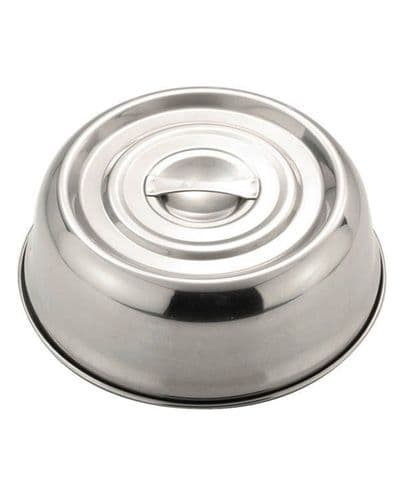 Stainless Steel Banquet Plate Cover - 20cm