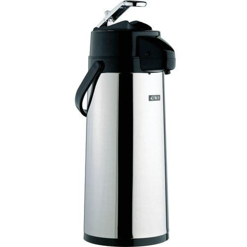 Stainless Steel GLASS LINED Airpot / Lever Type 2.5L