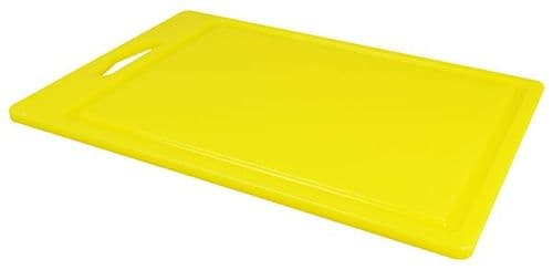 Standard Carry Handle Chopping Board 35.5cm - YELLOW