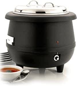 Sunnex Black Soup Kettle