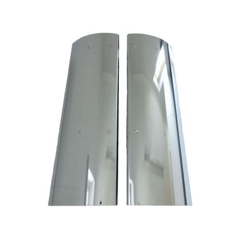 Mercedes Atego Stainless Steel Mirror Guards
