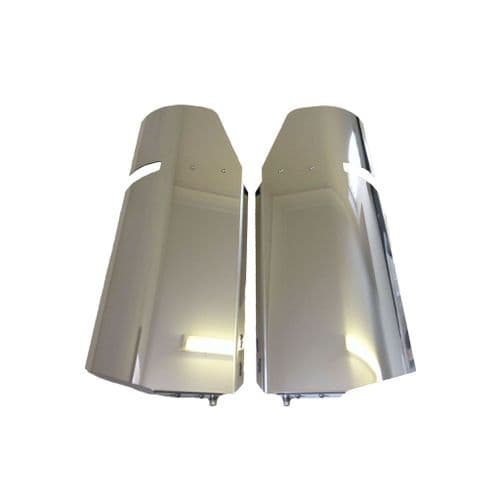 Scania 4/R Stainless Steel Mirror Guards