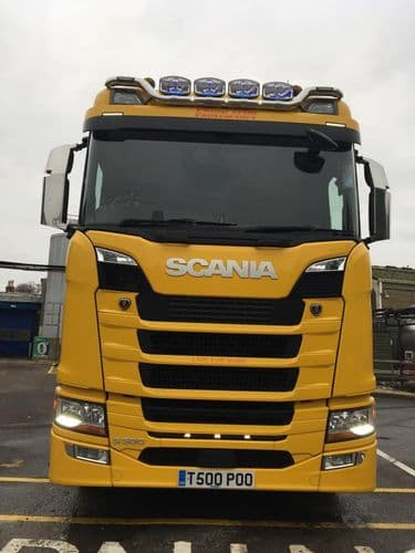 Scania Next Gen Lower LED Grill Strip