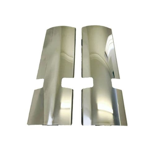 Volvo FMX Stainless Steel Mirror Guards