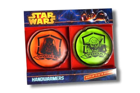 6x Star Wars Automatic Gel Hot Pouch Hand & Body Magic Warmer Handwarmer /UK