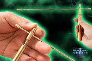 Copper Dowsing Divining Rods Oriental Style Paranormal Ghost Hunt Magick