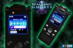 EVP Quality Black Metal Digital Voice Audio Recorder 8Gb Paranormal Equipment