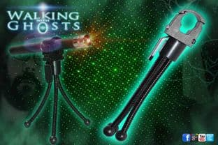 Laser Matrix Grid Pen Tripod Holder Ghost Hunt Paranormal Investigation Tool