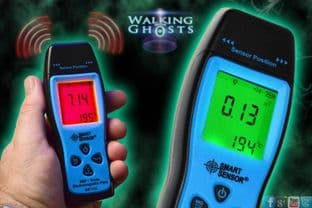 LCD EMF & Temperature Meter with Alarm Ghost Hunting Paranormal Equipment