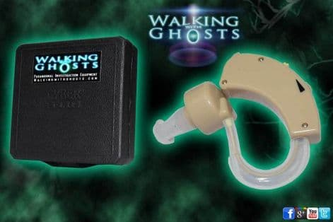 Live EVP Digital Audio Amplifier Hearing Aid Paranormal Equipment