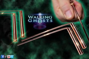 Mini Copper Dowsing Divining Rods With Handles Paranormal Magick
