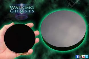 Mystical Obsidian Black Scrying Mirror Paranormal Fortune Telling Wiccan