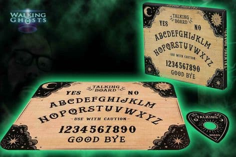 Ouija Spirit Board Traditional Victorian Style Talking Board Clairvoyant Ghost