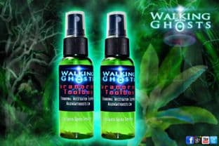 Rare Sacred Palo Santo Smoke Free Smudge Spray Cleanse Protect Spirit Ghost UK
