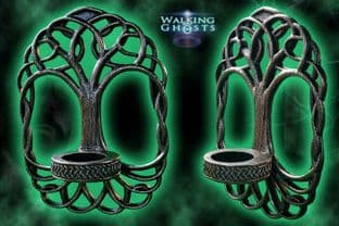 Tree of Life Wall Hanging Tea-light Candle Holder Gothic Altar Wiccan
