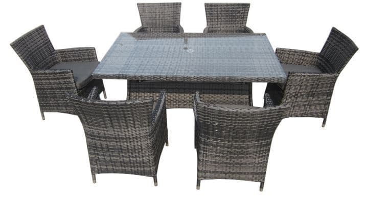 The Cheshire 6 Seater Dining Suite