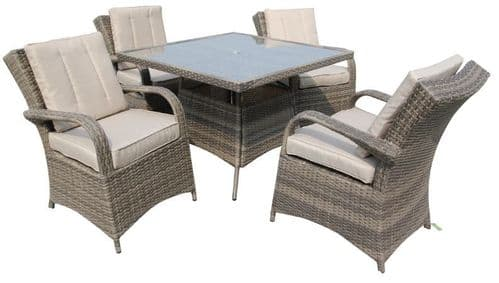 The Texas 4 Seater Dining Suite