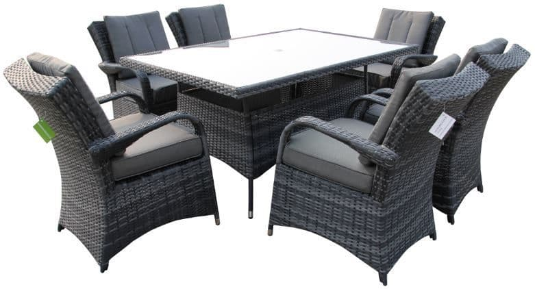 The Texas 6 Seater Dining Suite