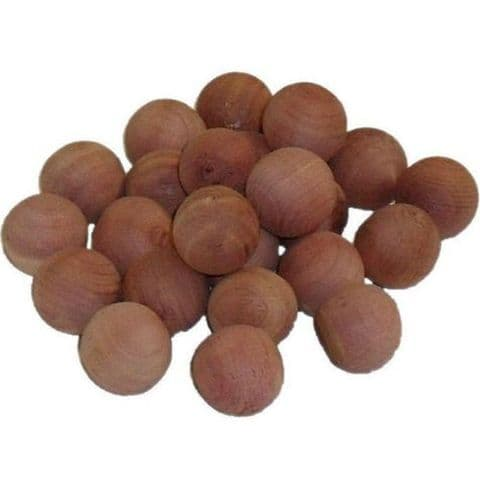 10 Cedar Wood Moth Balls Nuggets
