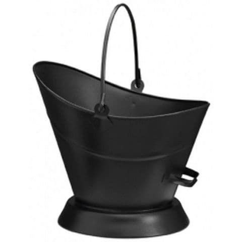 Classic Black Waterloo Coal & Kindling Bucket