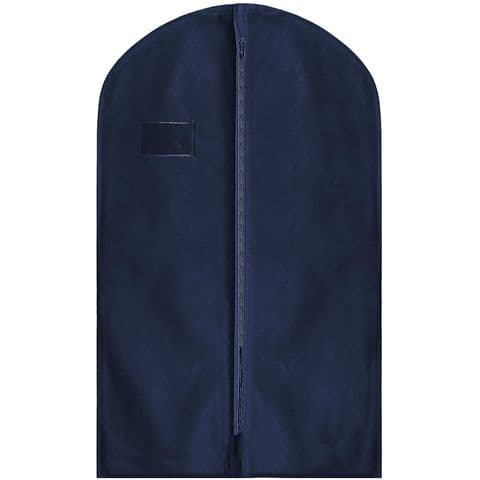 Navy Blue Thick Hanging Clothes Suit & Shirt Cover
