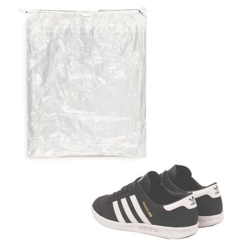 Optic Clear Shoe Storage Bags 37cm (15 Pack)