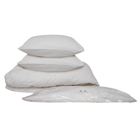 PackSmart Large Vacuum Duvet Storage Bags Set (6 Pack) Save £13