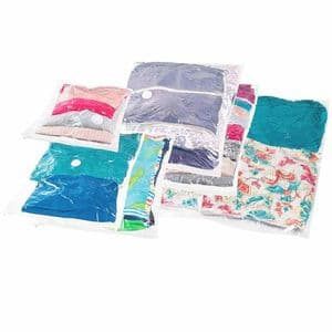 PackSmart Mixed Size Clothes Vacuum Storage Bags (6 Pack) Worth £40