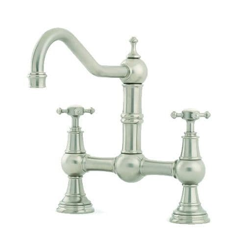 Perrin and Rowe Provence Kitchen Tap with Capstan Handles