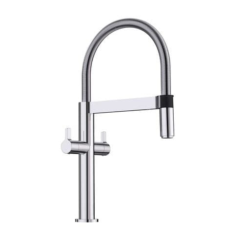Blanco Culina-S Mini Twin Lever Kitchen Tap