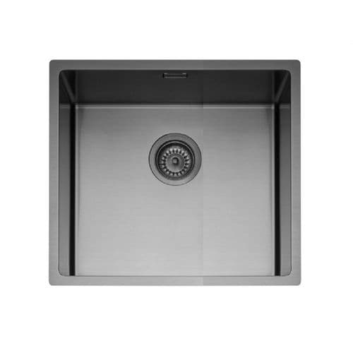 Caple Mode 45 Gunmetal Inset or Undermount Sink