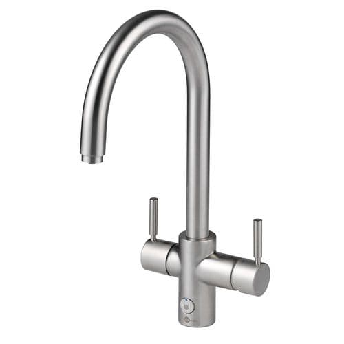 Insinkerator Brushed J Spout 4 In 1 Steaming Hot Water Tap