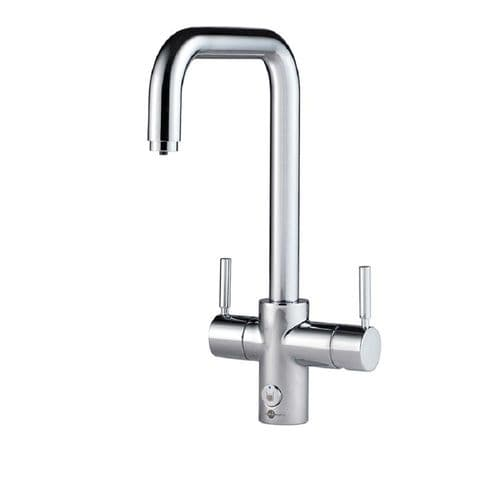 Insinkerator Brushed U Spout 4 In 1 Steaming Hot Water Tap